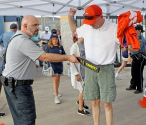 Officials: Metal detectors worked well at football game | Test