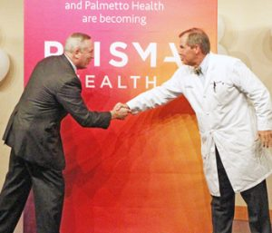 GHS, Palmetto Health unveil new name