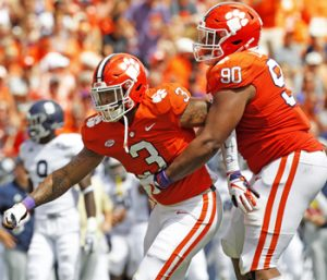 Clemson's Thomas living up to expectations | Test