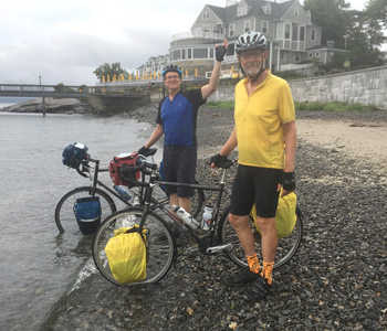 Retired pastor, friend travel 4,200 miles in 77 days | Test