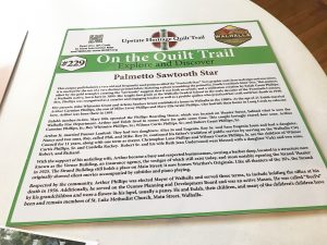 Quilt panels to tell Walhalla stories  | Test