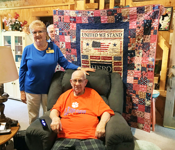 Quilts of Valor recognizes Pickens man | Test