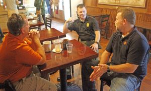 Clemson police take part in National Coffee with a Cop Day for first time