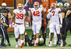 Unbeaten Clemson, NC State square off today | Test