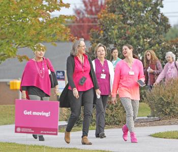Oconee Memorial Hospital hosts breast cancer awareness event   Test