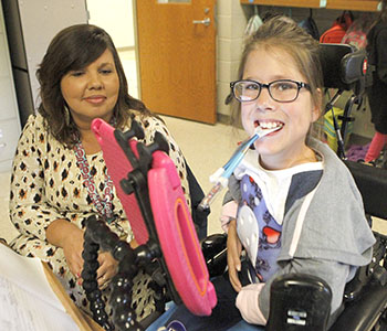 Love of life trumps physical difficulties for Seneca student   Test