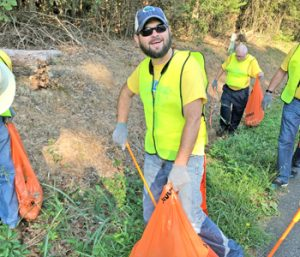 County's'litter blitz' nets 11 tons of trash