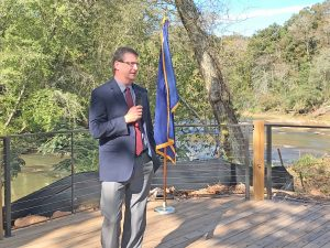 Officials cut ribbon on new Twelve Mile park in Central   Test