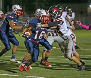 Warriors fall to Liberty on homecoming