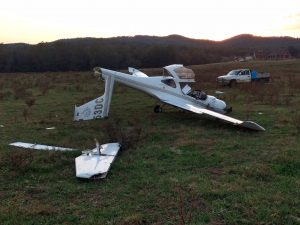 NTSB investigating crash in Mountain Rest pasture | Test