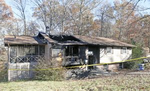 Home 'unlivable' after Monday fire