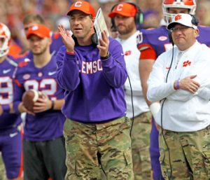 Military appreciation hits home for Clemson, players | Test