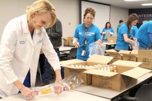 Duke Energy employees donate hygiene kits   Test