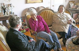 Clemson police bring gifts, care to elderly residents