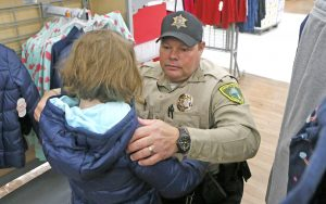 Annual 'Shop with a Hero' event serves 152 children