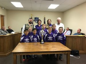 Walhalla council recognizes state rec soccer champions
