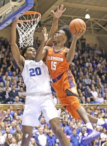 Tigers fall on road to top-ranked Duke   Test