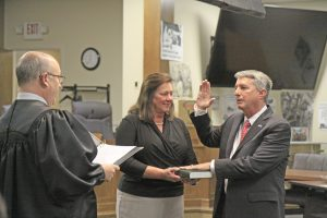 County council taps new chair, interim  admin   Test