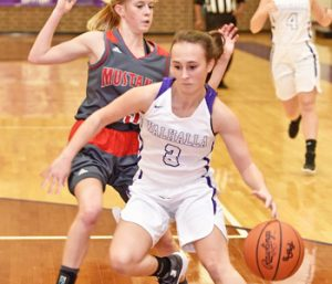 Walhalla girls balanced in win over Mustangs