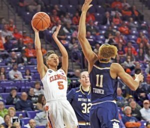 Tigers fall to No. 5 Notre Dame | Test
