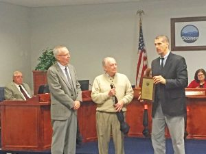 School board honors Inabinet for half century of service