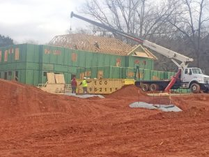 Southern Wesleyan special-needs housing project showing signs of progress