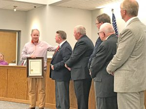 Pickens County Council recognizes Tigers for perfect season, national title