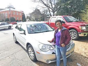 'Rebuilding from scratch': Gift of car helps Seneca woman | Test