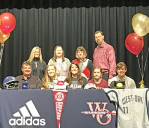 West-Oak's Yoder signs with Erskine