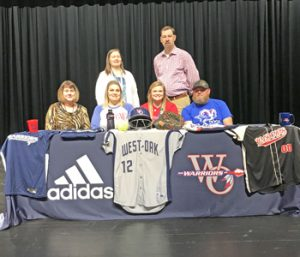 West-Oak's McKern signs to play college softball