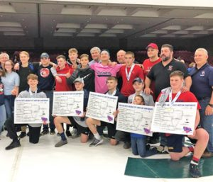 Warriors crown five state wrestling champions | Test