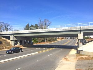 Clemson bridge replacement project nearing completion