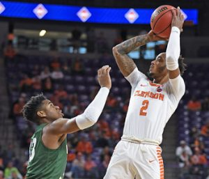 Clemson wins NIT opener over Wright State
