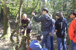 Veteran educator returns  to teach outdoor survival skills   Test