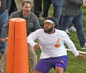 Tigers take part in pro day for NFL scouts | Test