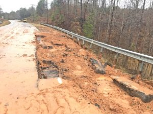 Contractor picked to repair collapsed roadway on US 123 | Test
