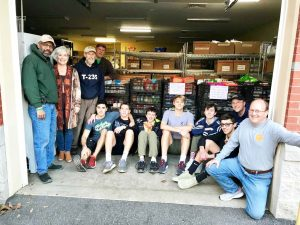 Scouts assist with food drive for Clemson Community Care   Test