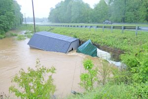 Thunderstorms, flooding rip through Oconee County