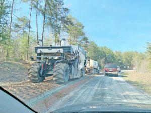 SCDOT repairing detour road, pausing water line relocation work | Test