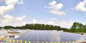 Perry Ellis International unveils solar panel project