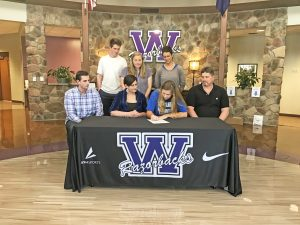Walhalla's Bonadies, Burgess sign with colleges | Test