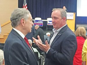 Graham, Duncan voice support for Trump, slam Democrats at annual Oconee GOP convention | Test
