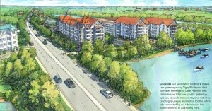New $80M mixed-use lakeside development proposed