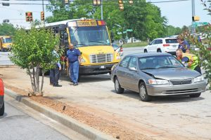 Students OK after school bus accident | Test