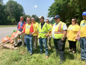 Countywide cleanup nets 15 tons of trash