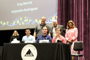 12 Oconee County students sign to go from 'School to Work' | Test