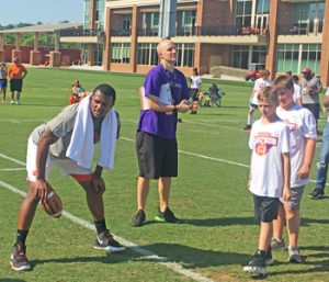 Watson returns to Clemson for camp