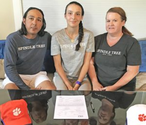 Local tennis standout signs with Clemson | Test