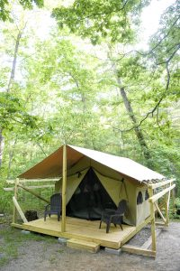 Glamping gaining popularity in NC mountains | Test
