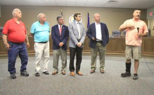 Council honors former K-9 officer
